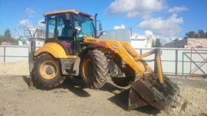 traktorbagr TEREX960